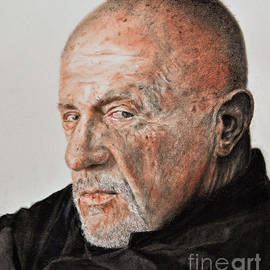 Jim Fitzpatrick - Actor Jonathan Banks as Mike Ehrmantraut in Breaking Bad