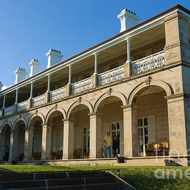 David Hill - Admiralty House - official Sydney residence of the Governor-General of Australia