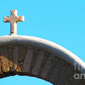 Roselynne Broussard - Adobe Arch With Cross