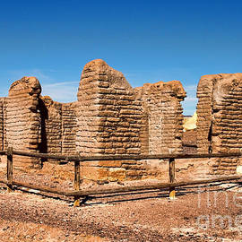 Diana Sainz - Adobe Borax Ruins in Death Valley