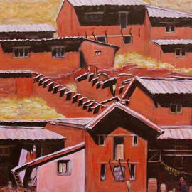 Xueling Zou - Adobe Village - Peru Impression II