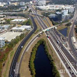 Lingfai Leung - Aerial View of City of Tampa