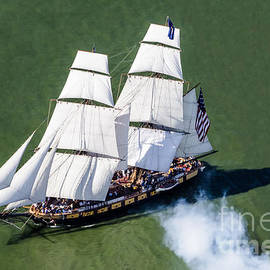 Karen English - Aerial view of the Brig Niagara