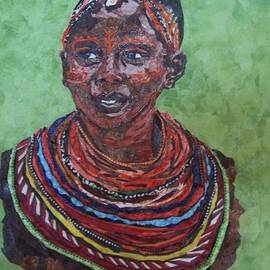 Mihira Karra - African Beauty Series- I.  Masai Girl