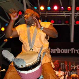 Eva Kato - African Drummer