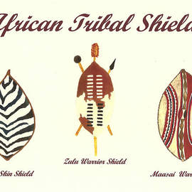 Michael Vigliotti - African Tribal Shields Number 2