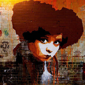 Luke Lansdale - Afro girl