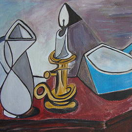 Veronica Rickard - After Picasso Still Life with Casserole