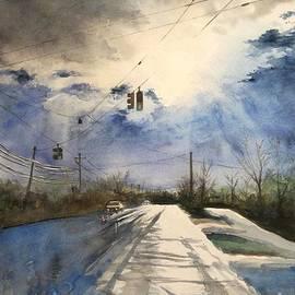 Yoshiko Mishina - After Rain -on the Michigan Ave. Saline Michigan
