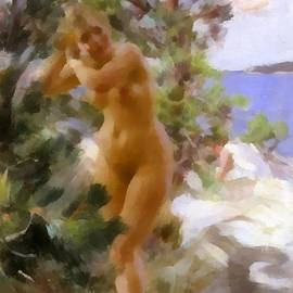 Anders Zorn - After The Bath 2