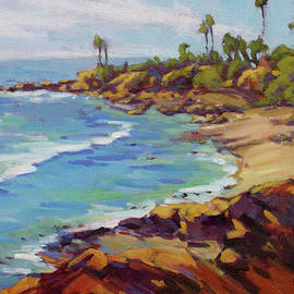 Konnie Kim - Afternoon Glow 2 Laguna Beach