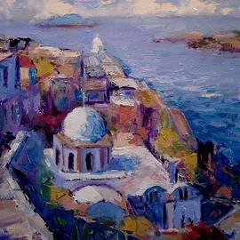 R W Goetting - Afternoon in Santorini