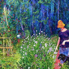 Linda J Bean - Afternoon in the Gardens