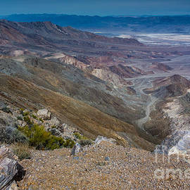 Dan Hartford - Aguereberry Point view of Death Valley #5