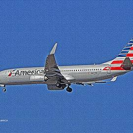 Tom Janca - Airliner Landing At Sky Harbor Phoenx