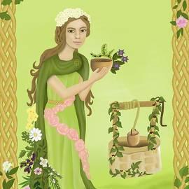Charis Estelle Olney - Airmid celtic goddess of healing