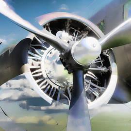 Athena Mckinzie - Airplane Propeller In The Clouds