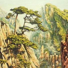 Irina Sumanenkova - Airy mountains of China.