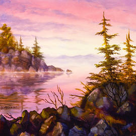 Teresa Ascone - Alaska Coastal Sunset