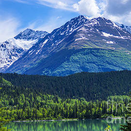 Jennifer White - Alaska Scenic Byway Mountain