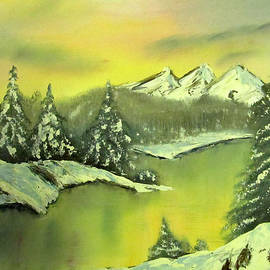 Leslie Brunton - Alaskan Sunrise