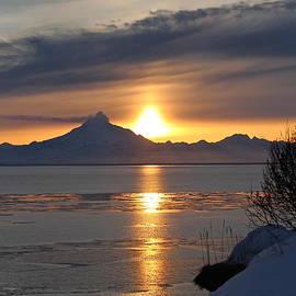 Rick  Monyahan - Alaskan Sunset