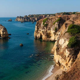 Iryna Soltyska - Albufeira coastline Portugal