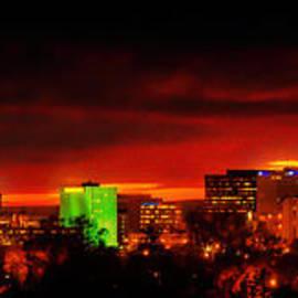 Tony Lopez - Albuquerque Skyline