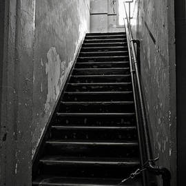 RicardMN Photography - Alcatraz Hospital Stairs