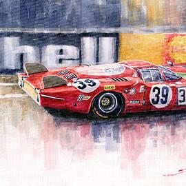 Yuriy  Shevchuk - Alfa Romeo T33 B2 Le Mans 24 1968 Galli Giunti