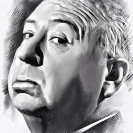 Scott Wallace  - Alfred Hitchcock Sketch