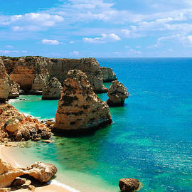 Christopher and Amanda Elwell - Algarve Beach - Portugal