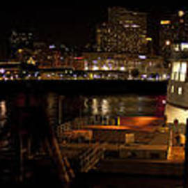 Natalie Hux - Algiers Point Ferry at Night