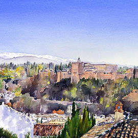 Margaret Merry - Alhambra and Sierra Nevada Granada