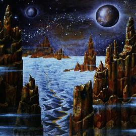 Hartmut Jager - ALIEN  NIGHT On An ICE PLANET
