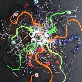 Douglas Fromm - Alien Octopus in Spiderweb