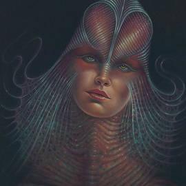 Ricardo Chavez-Mendez - Alien Portrait Il