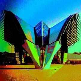 Seymour Kanowitch - Alien Spacecraft