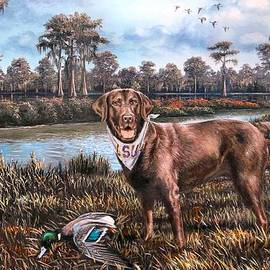 Mike Roberts - All American Chocolate Lab