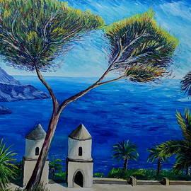 M Bleichner - All Blue On Amalfi Coast Italy