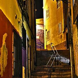 Carlos Alkmin - Alley by Night - Cascais - Portugal