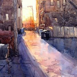 Max Good - Alley Sunset