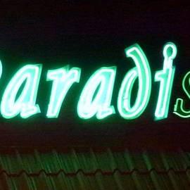 Barbie Corbett-Newmin - Almost Paradise Neon sign