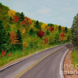 Jesslyn Fraser - Along the Cabot Trail