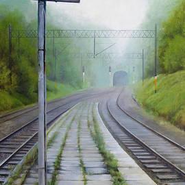 Sandra Szyra - Along the Railroad. Platform 2