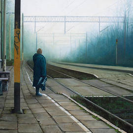 Sandra Szyra - Along the Railway. Platform 1