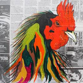 Janice Rae Pariza - Amadeo the Tuscan Rooster