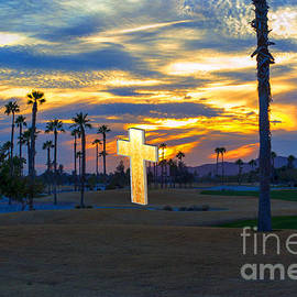 Beverly Guilliams - Amazing Golf Course Sunset