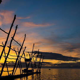 Dejan Stojakovic - Amazing sunset in Umag