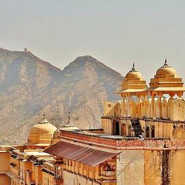 Kim Bemis - Amber Fort Towers - Jaipur India